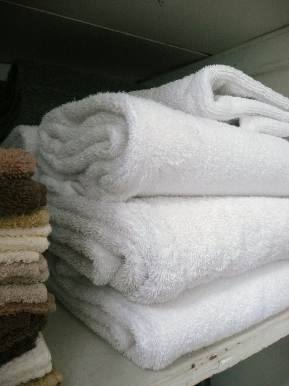 White White White Towels