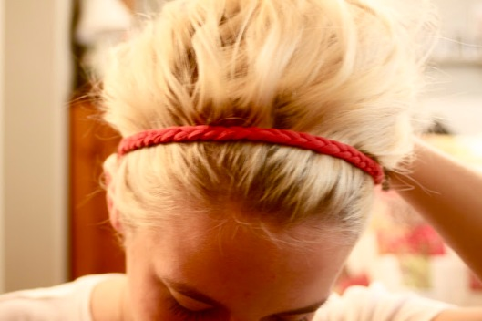 t shirt headband