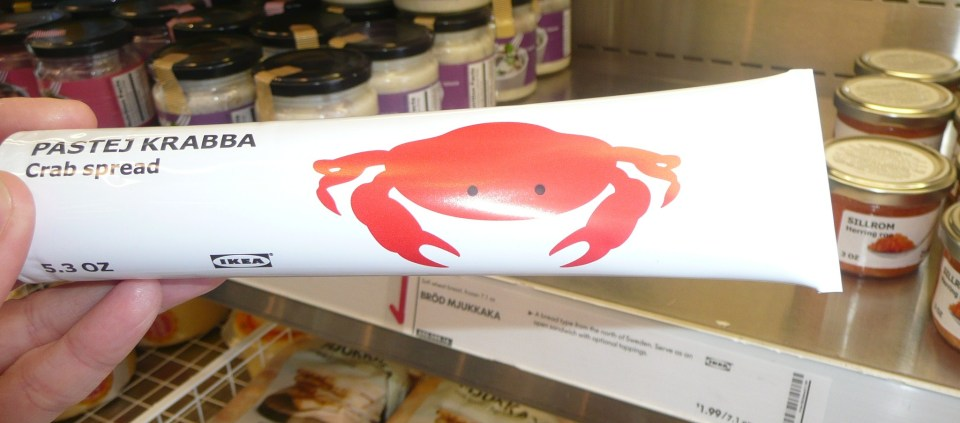 ... or the crab