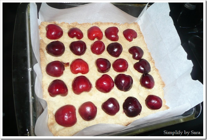 Brown Butter Cherry Bars (2)