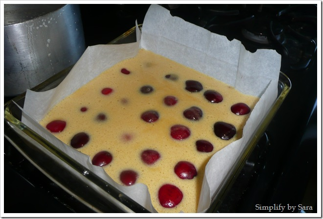 Brown Butter Cherry Bars (5)