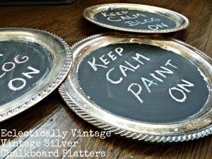 chalkboard silver