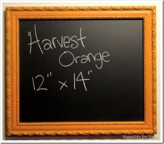 Harvest Orange
