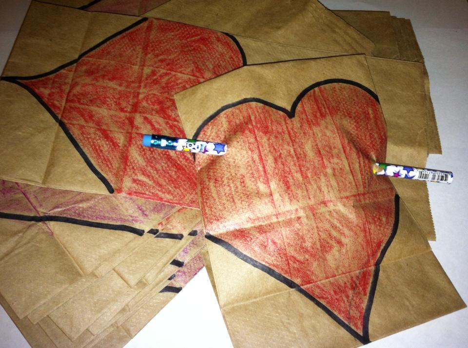 2013 Paper Bag Valentine